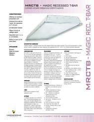 MRCTB -MAGIC REC. T-BAR - Visioneering