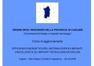 dell'aria - Ordine degli Ingegneri della provincia di Cagliari