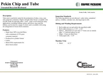 Pekin Chip and Tube - Graphic Packaging