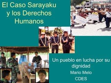 El Caso Sarayaku y los Derechos Humanos