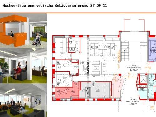Hochwertige energetische Gebäudesanierung
