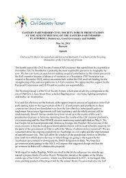here - Eastern Partnership Civil Society Forum