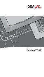 DeviregTM 550 - Danfoss Lämpö ja Kaukolämpö