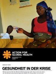 GESUNDHEIT IN DER KRISE - Action for Global Health