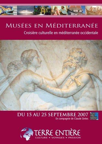 Musées en Méditerranée - Terre Entière