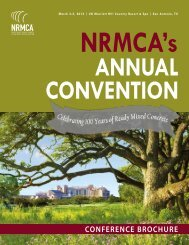 Annual Convention Brochure - National Ready Mixed Concrete ...