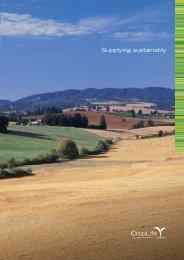 Supplying Sustainably 2008-2009