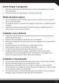 Robô de piso programável adequado para crianças GUIA DO ... - TTS - Page 5