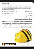 Robô de piso programável adequado para crianças GUIA DO ... - TTS - Page 7