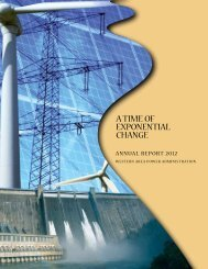 2012 Annual Report - Western Area Power Administration