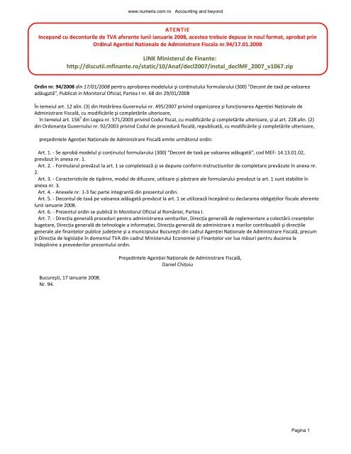 Anaf Formular 150 Pdf