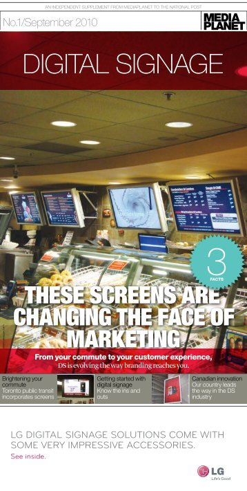 Download the 8-page Digital Signage Supplement - Lyle Bunn
