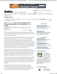 EXPR 126 - Winner Article on Builder Online - Excel Homes