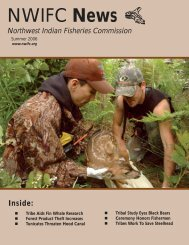 Summer - NWIFC Access - Northwest Indian Fisheries Commission