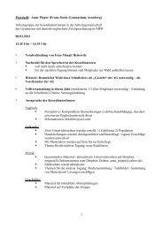Protokoll 8. März 2013 - BILINGUAL-AG-NRW.de