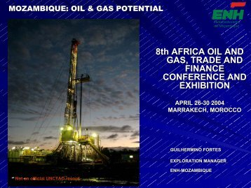 8th AFRICA OIL AND GAS, TRADE AND FINANCE ... - Unctad XI