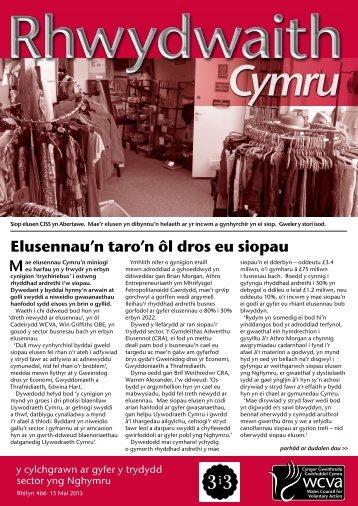 Rhwydwaith Cymru 466, 15 Mai 2013 - WCVA