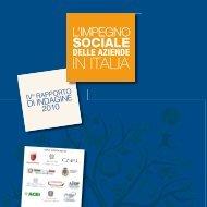 Sportello CSR - L'impegno sociale delle aziende in Italia