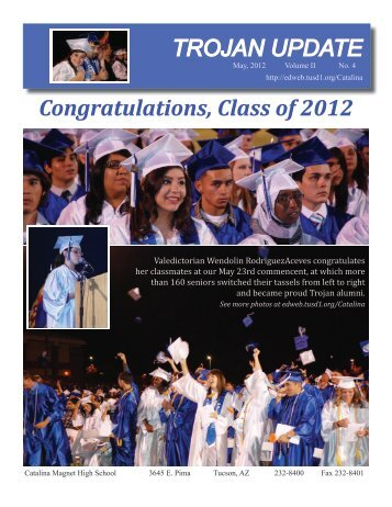 May, 2012 - Tucson Unified School District