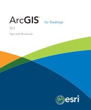 ArcGIS for Desktop 10.1 Tips and Shortcuts - Esri