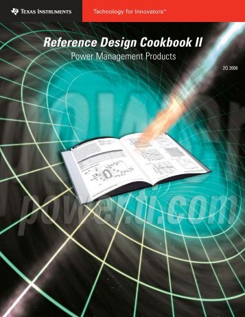 Reference Design Cookbook II - Talking Electronics