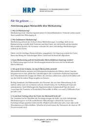 Mietfactoring - Heyd, Reims & Partner GmbH & Co. KG