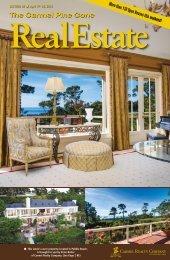 Carmel Pine Cone, April 19, 2013 (real estate) - The Carmel Pine ...