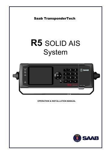 Ais Saab R5 >> R4 AIS Class B Transponder - Saab
