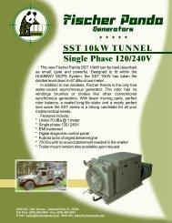 Panda SST10kw Tunnel SinglePhase - Fischer Panda Generators Inc.