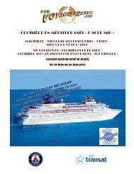 CROISIÈRE EN MÉDITERRANÉE « O SOLE MIO » - Voyages à rabais