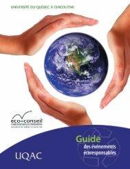 Guide des événements écoresponsables - Recyc-Québec