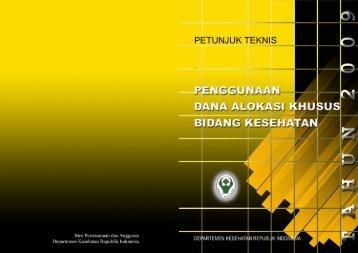 Departemen Kesehatan Republik Indonesia