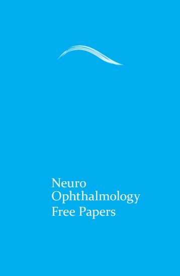 Neuro Ophthalmology Free Papers - aioseducation