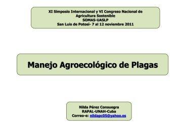 Nilda Perez C. Manejo Agroecologico de Plagas_SOMAS-2011