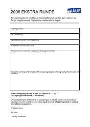 Hent ansøgningsskema her - Århus Ungdommens Fællesråd