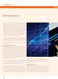 Risk Management - Mewah Group