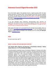 November - Asian Studies Association of Australia