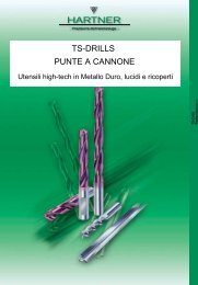 TS-DRILLS PUNTE A CANNONE - Sicutool