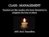 CLASS- MANAGEMENT - School of Educators