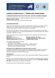 CANCELLATION POLICY / TERMS AND CONDITIONS
