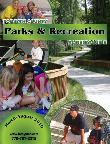 2010 Spring Summer Activity Guide - Forsyth County Government