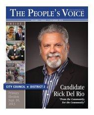 Candidate Rick Del Rio