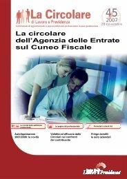 La circolare dell'Agenzia delle Entrate sul Cuneo Fiscale