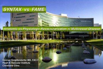 SYNTAX vs FAME - cardioegypt2011