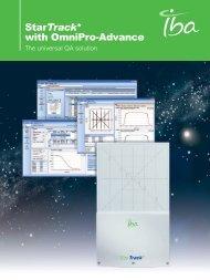 Download brochure. - IBA Dosimetry