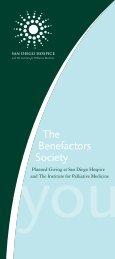 The Benefactors Society - San Diego Hospice