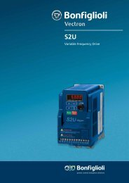 Variable Frequency Drive - Bonfiglioli