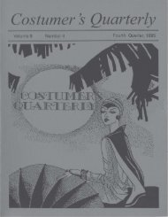Vol 8 No 4, page 1 - International Costumers' Guild, Inc.