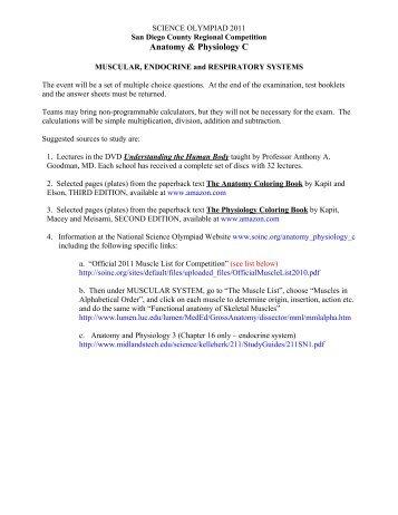 Chemistry Olympiad 2013 Study Guide - Ebook List