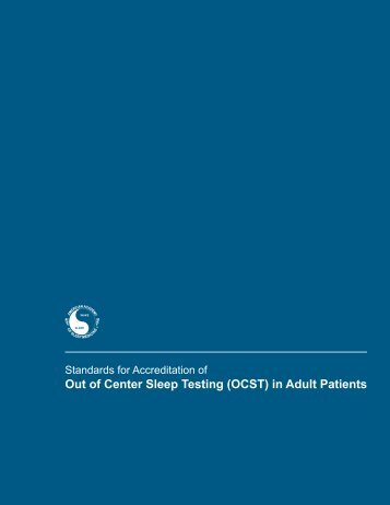 Out of Center Sleep Testing (OCST) in Adult Patients - American ...